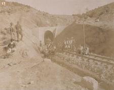 Vittorio Besso - Ferrovie Secondarie della Sardegna, Imbocco Isili, Galleria Meana, 1888