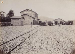 Vittorio Besso - Ferrovie Secondarie della Sardegna, Stazione di Tortolì, 1888 ca