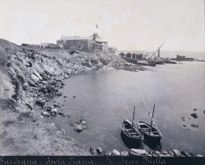 Vittorio Besso - Isola Piana, tonnara, 1887 ca