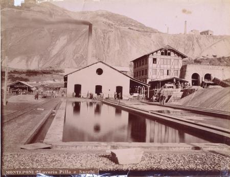 Vittorio Besso - Miniere di Monteponi, Laveria Calamine 1887 ca