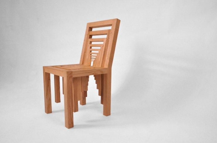 """Inception Chair"" dell'artista statunitenseVivian Chiu"