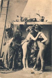 Il Sabba delle streghe a Parigi, 1900