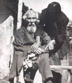 1912 foto di Pavel Jakovlevic Tolstoguzov, nato nel 1798, che ha combattuto nell'esercito russo contro Napoleone