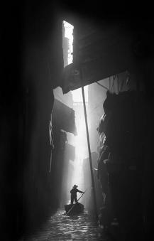 1950 Hong Kong - Street Photography - Foto grafia di Fan Ho
