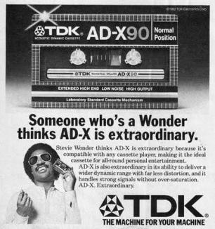 1982 - TDK