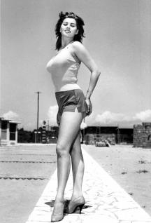 L'attrice Sophia Loren, circa 1960