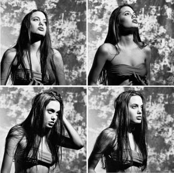 Angelina Jolie nel 1991