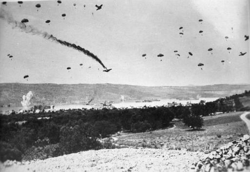 La Battaglia di Creta, la più grande operazione aviotrasportata tedesca della seconda guerra mondiale