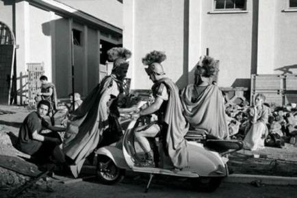 Ben Hur su una vespa, 1959