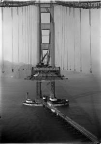 Building Golden Gate, 1933