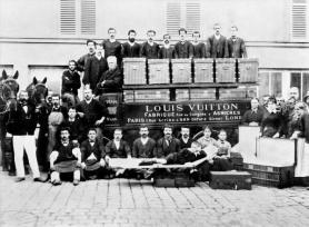 Camion di consegna per Louis Vuitton a Parigi, 1888