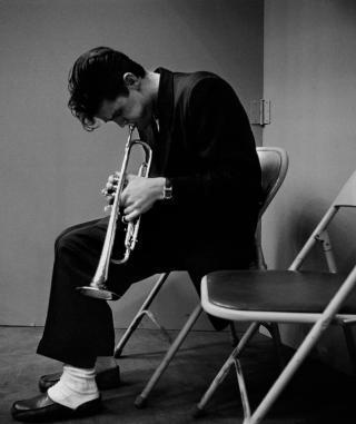 Chet Baker, sessione di registrazione di Los Angeles, 1953 Foto di Bob Willoughby