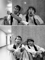 Chevy Chase e John Belushi