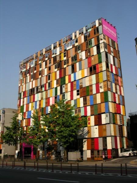 """Doors"" dell'artista sudcoreano Choi Jeong-Hwa"