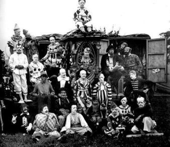 Clowns circa 1920