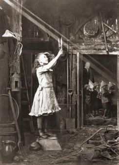 Taglio di un raggio di sole c. 1886