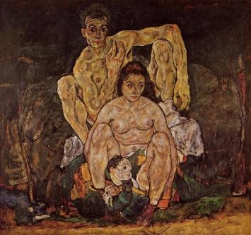Egon Schiele - The family