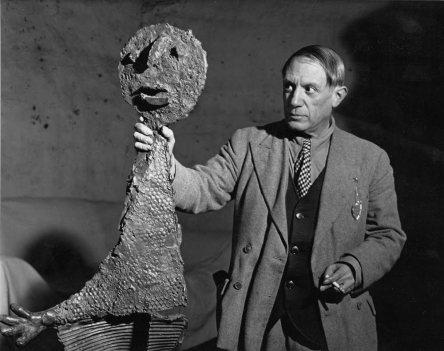 foto di Brassaï – Picasso