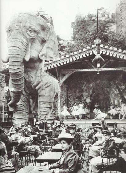 Giardini del Moulin Rouge, c. 1900