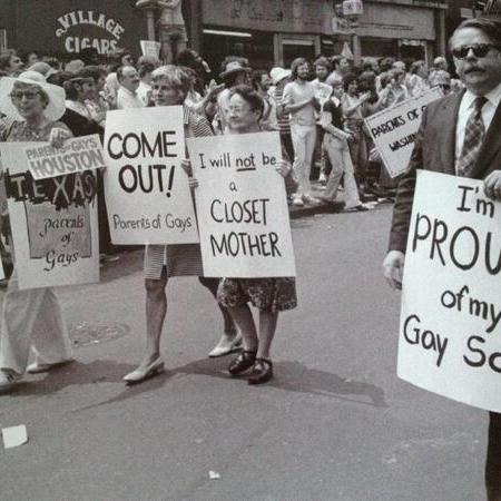 Parata del Gay Pride, New York City, 1974