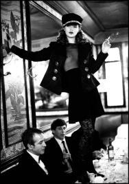 Kate Moss, Vogue Italia, 1993. Fotografia di Arthur Elgort