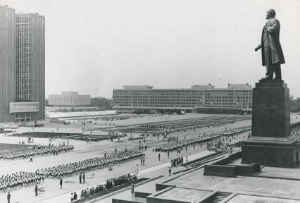 Lenin Square, Uzbekistan, 1966-1972