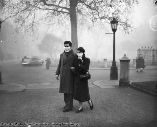 Smog a Londra, 1953