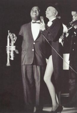 Louis Armstrong e Marlène Dietrich, 1962