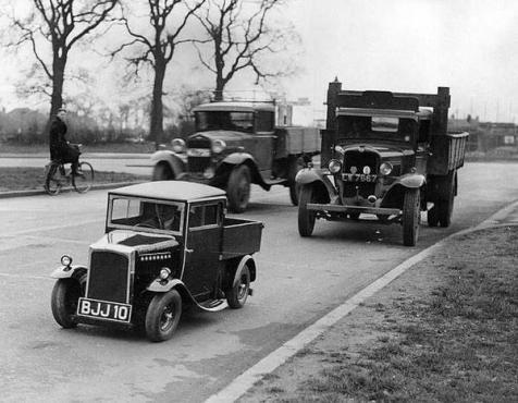 Mini camion, anni 20