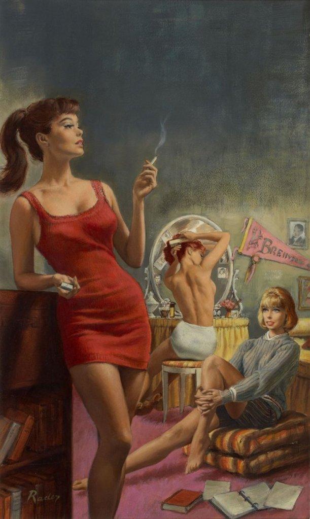 Illustrazionedell'artista statunitensePaul Rader