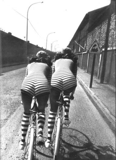 Foto di Helmut Newton per Vogue Paris, 1971