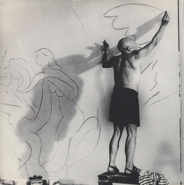 Picasso, 1960. Fotografia di Brassaï