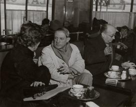 Picasso al Café de Flore, Parigi
