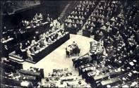 Prima seduta dell'Assemblea Costituente