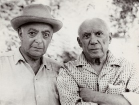 Autoritratto di Brassai con Picasso