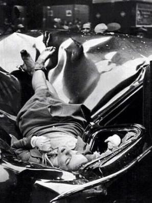 Evelyn McHale: suicida che si è lanciata dall'83° piano dello Empire State Building ed è atterrata su una limousine delle Nazioni Unite, 1947