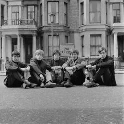 La prima foto dei Rolling Stones insieme, 1962
