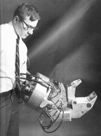 L'esoscheletro della General Electric . 1967