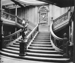 La grande scala del Titanic 1912