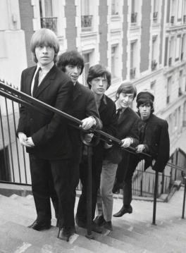 The Rolling Stones - 1965. Foto di Pierre Fournier