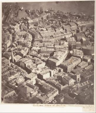 Questo Immagine di Boston, 1860 circa, è la più antica foto aerea al mondoQuesto Immagine di Boston, 1860 circa, è la più antica foto aerea al mondo