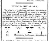 Emoticon vittoriane, 1800