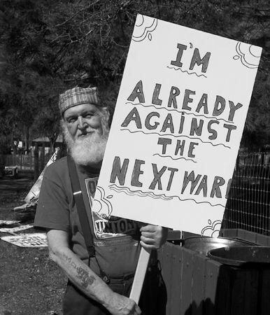 Proteste contro la guerra - Già contro la prossima guerra