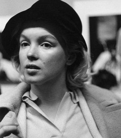 Marilyn senza trucco