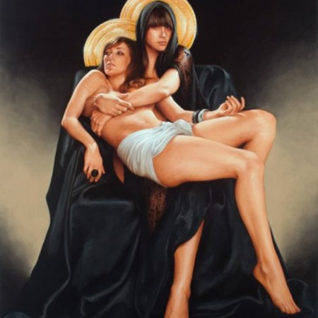 Opere dell'artista statunitenseAaron Nagel