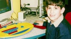 Aaron Swartz bambino