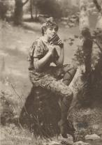L'attrice Maude Adams nei panni di Peter Pan, 1905