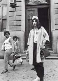 Un agente di polizia sotto copertura in servizio nel 78 ° Distretto di Brooklyn. 1 luglio 1969