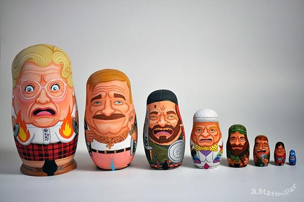 Tributo a Robin Williams didell'artista statunitenseAndy Stattmiller