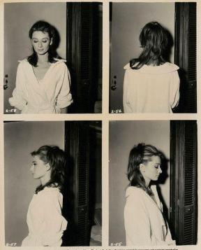 Audrey Hepburn, scatti di prova per Colazione da Tiffany, 1961